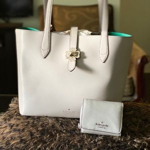 Kate spade wallet and tote all authentic